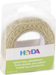 HEYDA Spitzen-Tape 15 mm x 2 m vanille