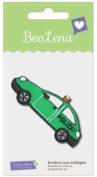 """BEALENA Applikation """"Polizeiauto"""" 7 x 3 cm grün"""