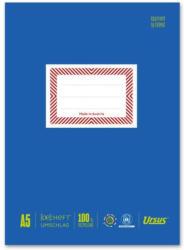 URSUS Heftschoner aus Papier A5 blau