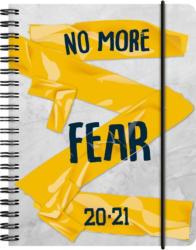 """Schülerkalender """"No more fear"""" A6 bunt 2020/2021"""