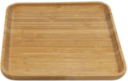 Bambusplatte 24,4 x 24,4 cm braun