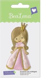 "BEALENA Applikation ""Prinzessin"" 5 x 9 cm rosa"