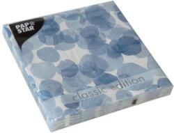 """PAPSTAR Servietten """"Spots"""" 20 Stück 33 x 33 cm blau"""