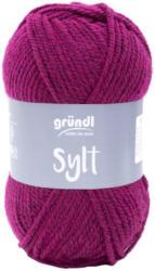 """GRÜNDL Wolle """"Sylt"""" 100g cyclam"""