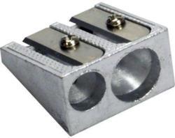SAX Metall-Doppelspitzer silber