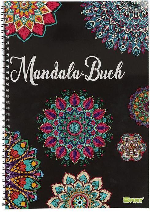 """Malbuch """"Mandala"""" bunt"""