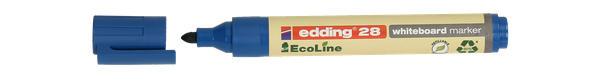 "EDDING Whiteboardmarker 28 ""Ecoline"" Rundsitze 1,5-3 mm blau"