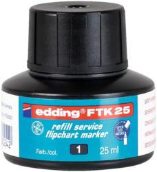 EDDING Nachfülltinte FTK25 für Flipchartmarker 25 ml schwarz
