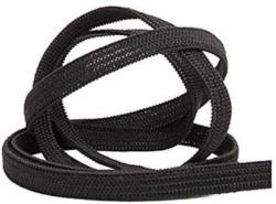 HOTEX Gummiband elastisch 3 m x 7 mm schwarz