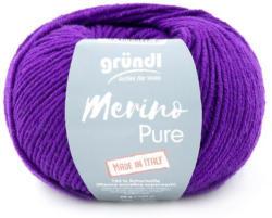 """GRÜNDL Wolle """"Merino Pure"""" 50g violett"""