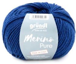 """GRÜNDL Wolle """"Merino Pure"""" 50g marine"""