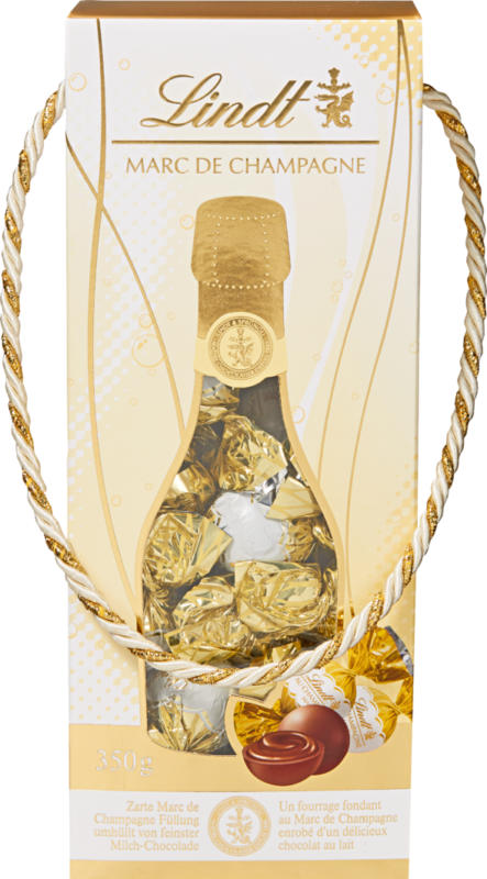 Lindt Kugeln Marc de Champagne, 350 g