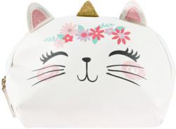 Mädchen Kosmetiktasche mit Katzen-Motiv (Nur online)