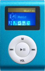 DIFRNCE DF-MP 855 Mp3-Player (4 GB, Blau)