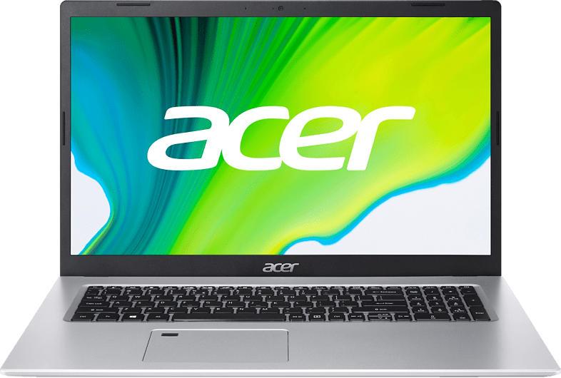ACER Aspire 5 (A517-52G-79Z5), Notebook mit 17.3 Zoll Display, Core™ i7 Prozessor, 16 GB RAM, 1 TB SSD, GeForce MX350, Silber