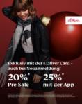 s.Oliver 20% im s.Oliver Online Shop - bis 20.12.2020