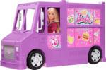 MediaMarkt BARBIE Food-Truck Spielset aufklappbar, über 30 Teile Puppen-Zubehör Spielset, Mehrfarbig