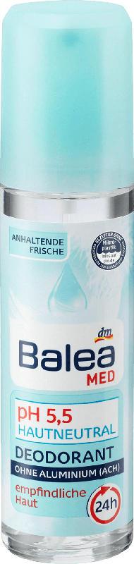 Balea MED Deo-Zerstäuber pH 5,5 Hautneutral@