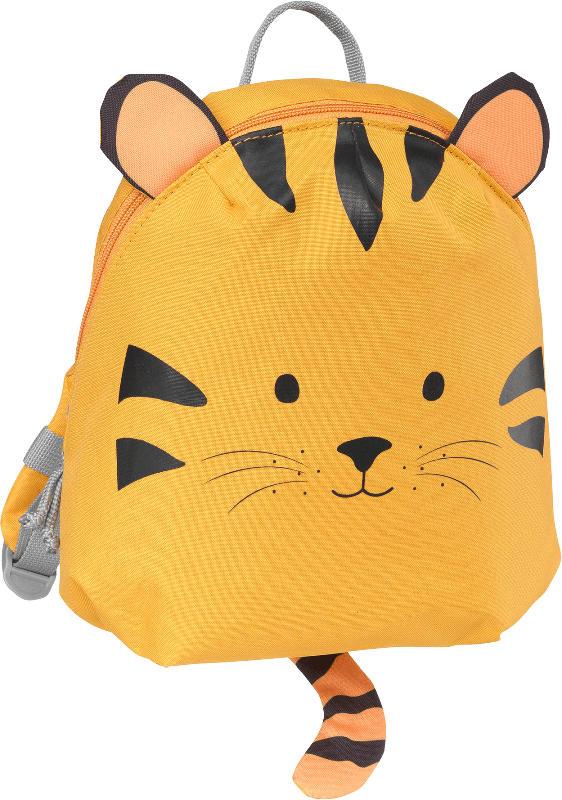 PUSBLU Rucksack Tiger, orange
