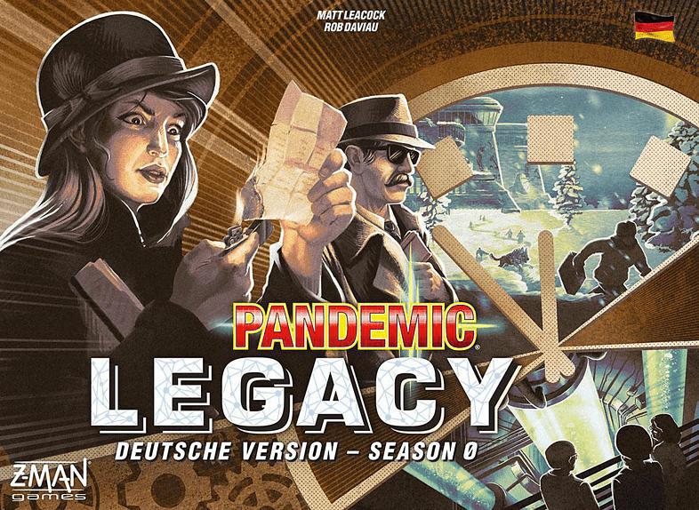 ZMAN Pandemic Legacy - Season 0 Gesellschaftsspiel, Mehrfarbig