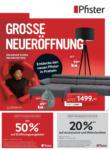 Pfister Neueröffnung & Rotstiftwochen Pratteln - bis 03.01.2021