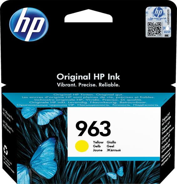 HP 963 Tintenpatrone Gelb (3JA25AE)