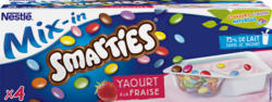 Yogurt Mix-in Nestlé, Fragola con Smarties, 4 x 120 g
