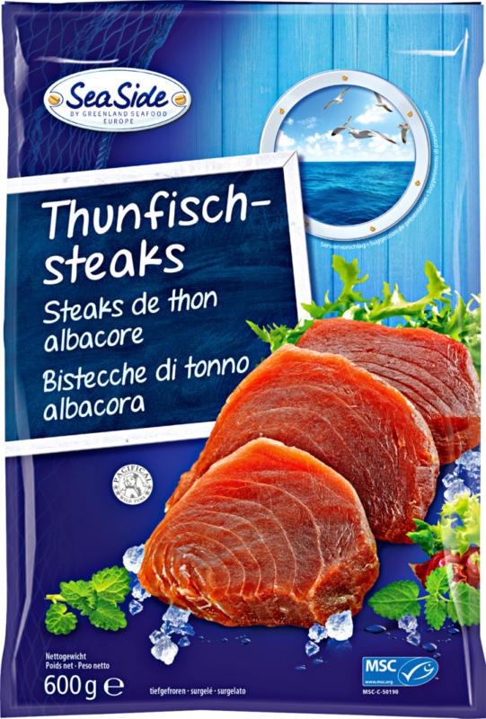 Steak de thon albacore Sea Side, 600 g