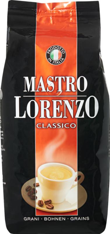 Mastro Lorenzo Kaffee Classico, Bohnen, 1 kg