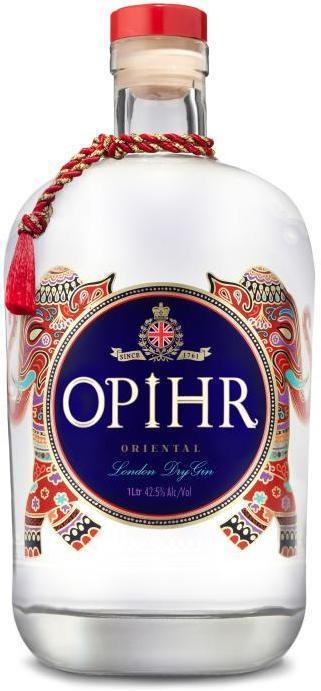OPIHR ORIENTAL SPICED GIN 42,5% 1L