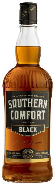 SOUTHERN COMFORT BLACK 40% 1L
