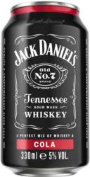 JACK DANIELS & COLA 5% 330ML