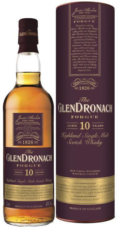 GLENDRONACH FORGUE 10YO 43% 1L