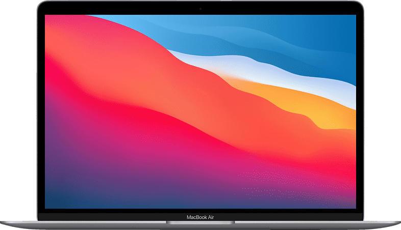 APPLE MacBook Air (M1,2020) MGN63D/A, Notebook mit 13.3 Zoll Display, 8 GB RAM, 256 GB SSD, M1 GPU, Space Grau
