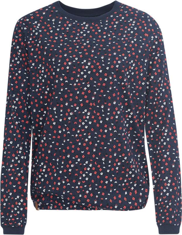 Damen Langarmshirt mit Blümchen-Allover (Nur online)