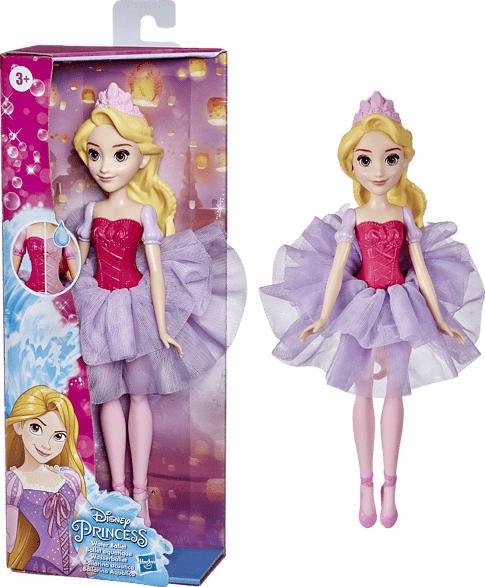 HASBRO Disney Prinzessin Wasserballett Rapunzel Puppe, Mehrfarbig