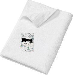 ebelin Handtuch aus Frottee weiß 100 % Baumwolle GOTS-zertifiziert
