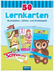 """TRÖTSCH Lernkarten """"ABC und Zahlen"""""""
