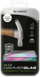 "MLINE Hammerglas ""3D Curved"" für Samsung Galaxy A40 transparent"