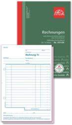 OMEGA DRUCK Rechnungsbuch für Kleinunternehmer A5 hoch 2 x 50 Blatt