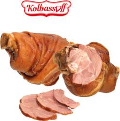 Hintere Schweinshaxe, gepökelt, gekocht und geräuchert