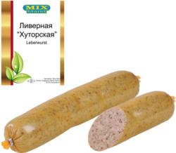 Leberwurst, schnittfest mit Knoblauch