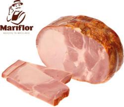 Schweinefleisch gekocht und geräuchertaus Fleischstücken