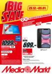 MediaMarkt Big Sale - bis 05.01.2021