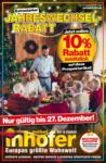 Möbel Inhofer Jahreswechselrabatt - bis 27.12.2020