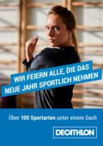 Sportlich ins neue Jahr mit Decathlon