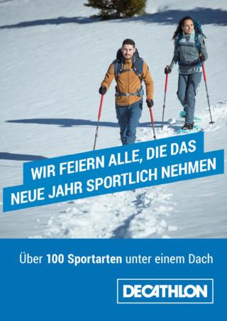 Winterwandern mit Decathlon