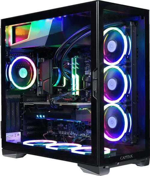 CAPTIVA I57-219, Gaming PC mit Core™ i5 Prozessor, 16 GB RAM, 1 TB SSD, GTX 1650 4GB, 4 GB