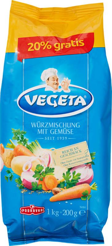 Miscela di spezie Vegeta Podravka, 1,2 kg