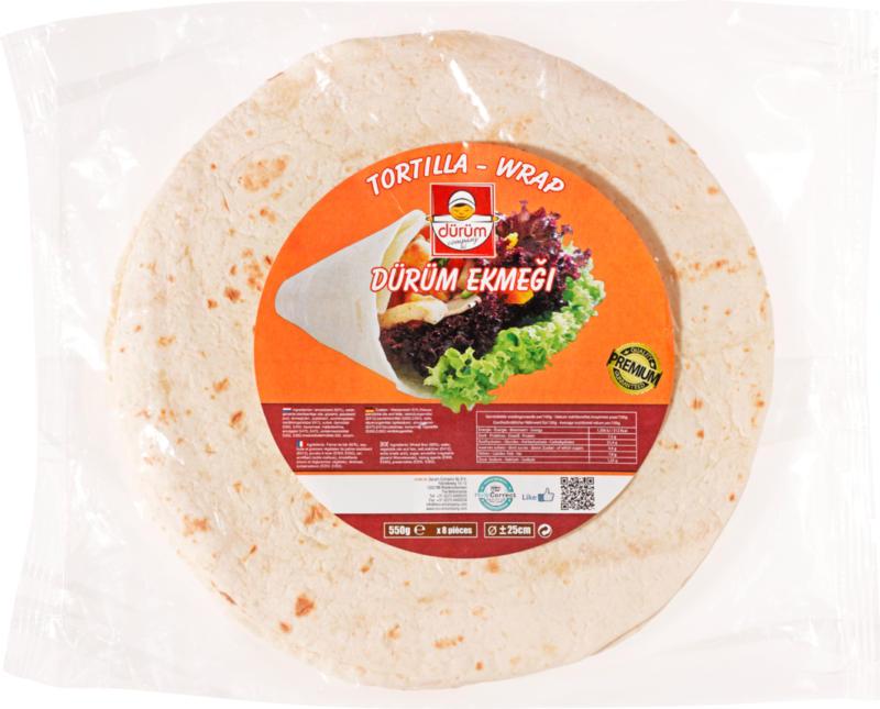 Dürüm Tortilla-Wrap, 8 Stück, 550 g